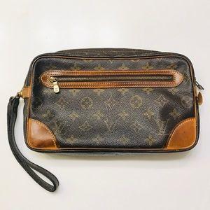 LOUIS VUITTON Monogram Marly Dragonne GM Bag